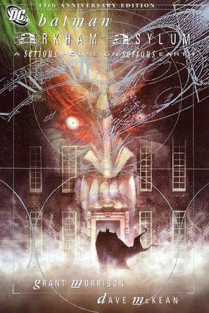 Cubierta para Arkham Asylum: A Serious Casa en serio la Tierra # 1