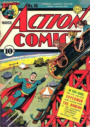 Cover for Action Comics #46