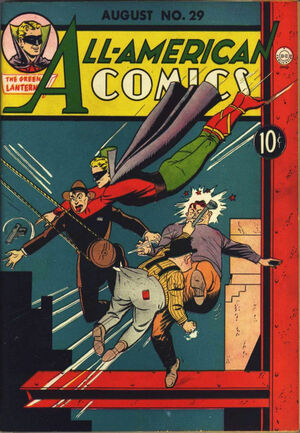 Cover for All-American Comics #29