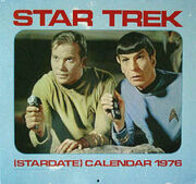 Star Trek Calendar 1976