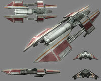 Rihkxyrk Heavy Starfighter