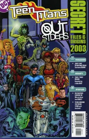 Cover for Teen Titans/Outsiders Secret Files and Origins #1