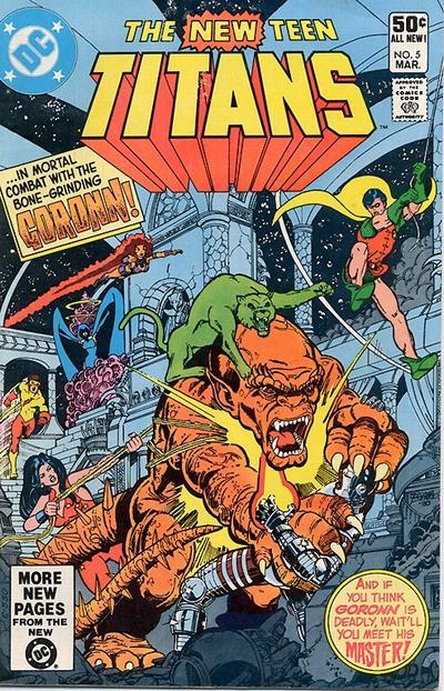 New Teen Titans Vol 1 #5