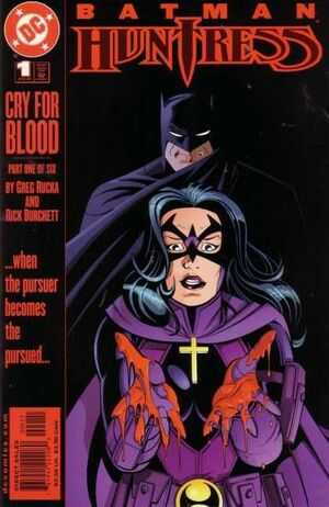 Cover for Batman/Huntress: Cry for Blood #1