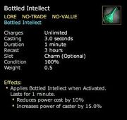 Bottled Intellect