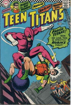 Cover for Teen Titans #5