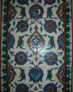 Iznik tiles in Selimiye Mosque