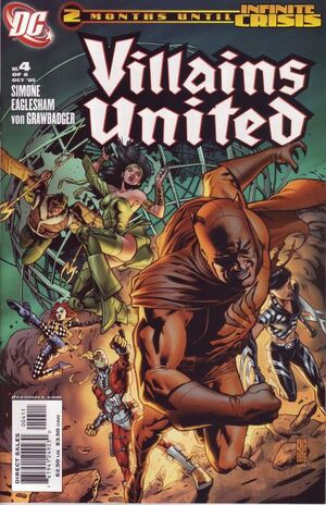 Cover for Villains United #4