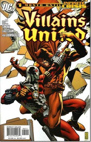 Cover for Villains United #5