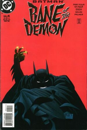 Cover for Batman: Bane of the Demon #4
