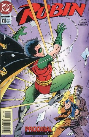 Cover for Robin #11
