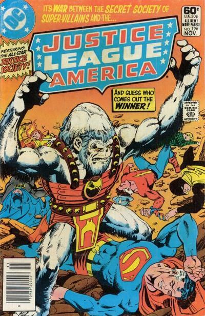 Justice League America #196