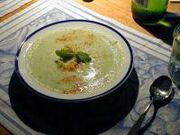 Cold Cucumber Basil Soup
