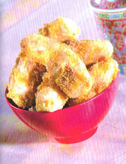 Deep-fried Bananas