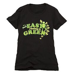 ItsEasyBeingGreenTshirtWomen