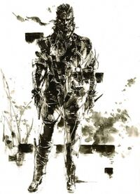 MGS3 Big Boss Artwork