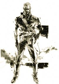 MGS3 Ocelot Artwork