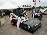 Bobcat Skidsteer withBrush attachment