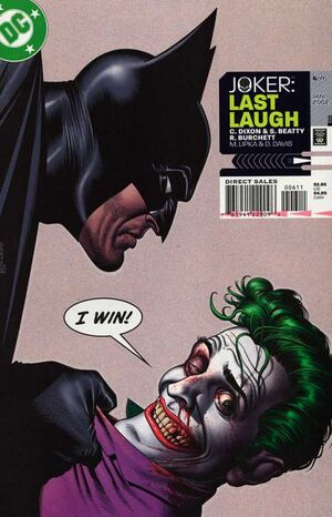 Cover for Joker: Last Laugh #6