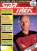 TNG Official Magazine issue 1 cover