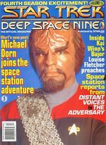DS9 magazine issue 13 cover