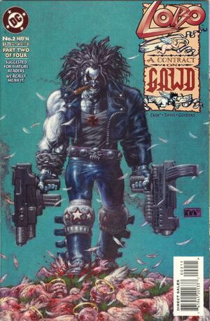 Cover for Lobo: A Contract on Gawd #2