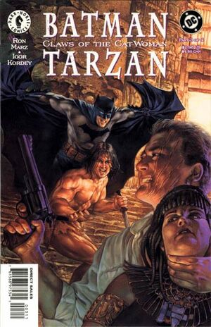 Cover for Batman/Tarzan: Claws of the Cat-Woman #3