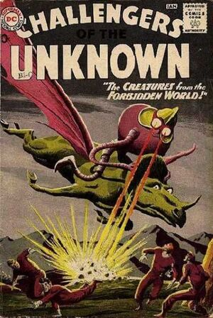 Cover for Challengers of the Unknown #11