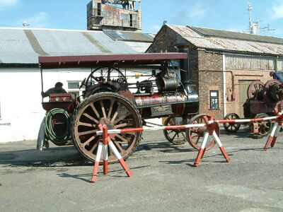Steam engine at Chatham