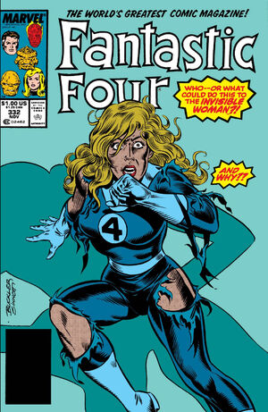 Fantastic Four Vol 1 332