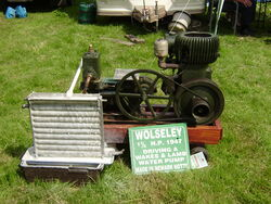 Wolseley engine of 1947
