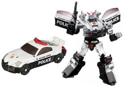 Universe 2008 Prowl toy