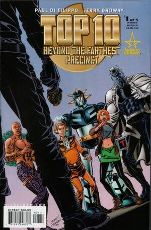 Cover for Top 10: Beyond the Farthest Precinct #1