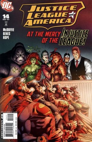 Cover for Justice League of America #14