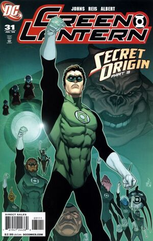 Cover for Green Lantern #31