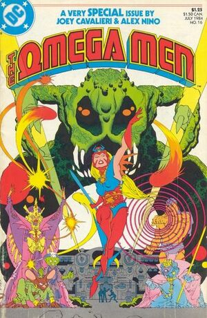 Cover for Omega Men #16
