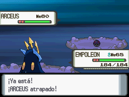 Capturando a Arceus 20