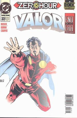 Cover for Valor #23