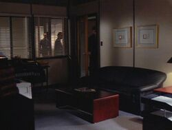 Walter Skinner's outer office (1996)