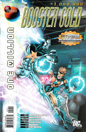 Cover for Booster Gold #1,000,000