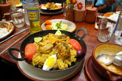 Image of Arroz Con Pollo - Stewed Rice With Chicken, Recipes Wiki