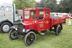 Ford Model T truck SV 6671 at Harewood 08