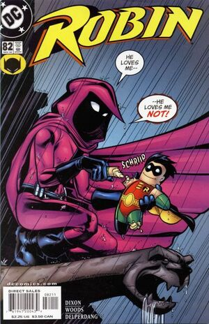 Cover for Robin #82