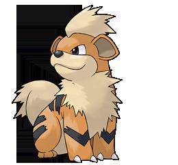 Juntemos a todos los pokemon Growlithe