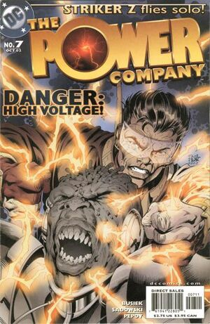 Cover for Power Company #7