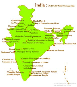 Unesco-whs-in-india