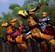 Alma and Ramza Ending PS1
