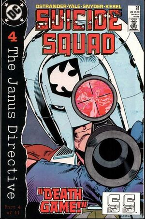 Cover for Suicide Squad #28