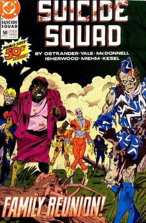 Cover for Suicide Squad #50