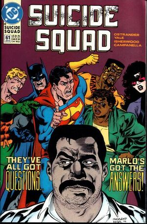 Cover for Suicide Squad #61